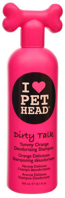 Pet Head Dirty Talk Deodorizing Shampoo, Yummy Orange