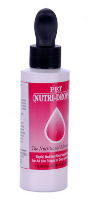 4 oz Pet Nutri-Drops, (dropper)
