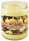 Pet Odor Eliminator Candles, Vanilla Glitz