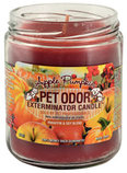 Pet Odor Exterminator Candle, Apple Pumpkin