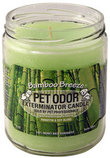 Pet Odor Exterminator Candle, Bamboo Breeze
