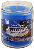 Pet Odor Exterminator Candle, Cabin Nights