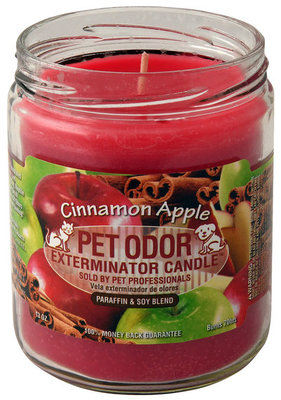 Pet Odor Exterminator Candle, Cinnamon Apple