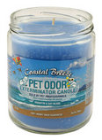 Pet Odor Exterminator Candle, Coastal Breeze