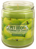 Pet Odor Exterminator Candle, Granny Smith