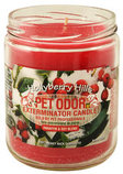 Pet Odor Exterminator Candle, Hollyberry Hills
