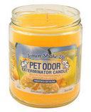 Pet Odor Exterminator Candle, Lemon Shake Up