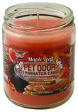 Pet Odor Exterminator Candle, Maple Leaf