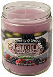 Pet Odor Exterminator Candle, Mulberry & Spice