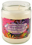 Pet Odor Exterminator Candle, Patchouli Amber, 13 oz