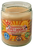 Pet Odor Exterminator Candle, Sandalwood