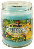 Pet Odor Exterminator Candle, Sparkling Juniper