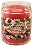 Pet Odor Exterminator Candle, Sugared Cranberry