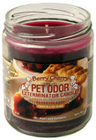 Pet Odor Exterminator Candles, Berry Cherry