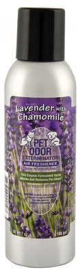 Pet Odor Exterminator Spray, Lavender with Chamomile, 7 oz