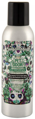 Pet Odor Exterminator Air Freshener, Sugar Skull
