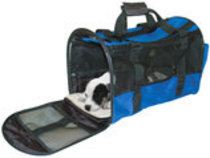 "Pet Travel Bag Carrier, Blue, 19.5""x10""x11.75"""