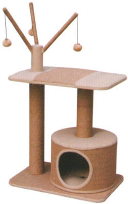 Jute Cat Playhouse, each