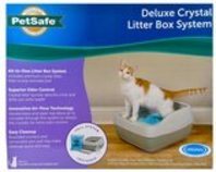 PetSafe Deluxe Crystal Litter Box System (& Accessories)