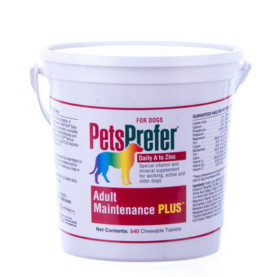 540 count PetsPrefer™ Adult Maintenance Plus, (tablets)