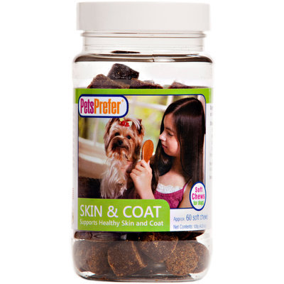 PetsPrefer Skin & Coat Soft Chews