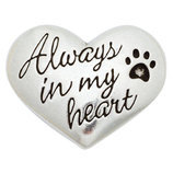 """Always In My Heart"" Pet Memorial Pocket Reminder"