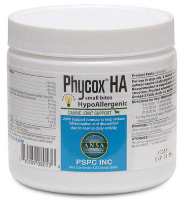 Phycox® HA (Hypo-Allergenic) 120 count Small Bites