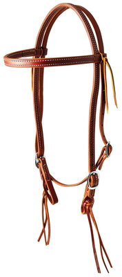 Pineapple Knot Browband Headstall
