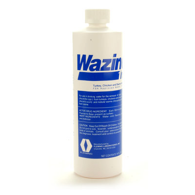Wazine 17 Liquid Wormer, 16 oz
