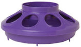 Plastic Chicken Feeder Base