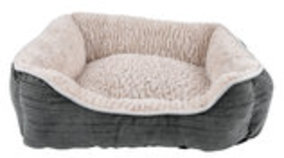 "21"" x 16"" Plush Dog Bed"