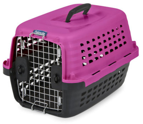 "Pink Compass Kennel, 24.6""x 16.9""x 15"""
