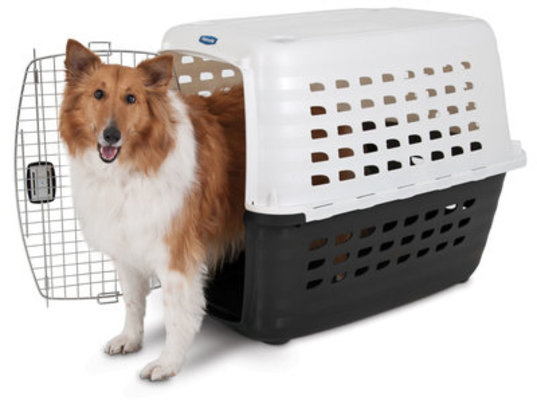 "White Compass Kennel, 40.1""x 26.1""x 29.7"""