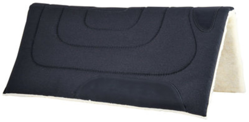 Poly Top Saddle Pad, 30 x 32