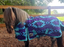 "Pony Poppins ""Maya"" Expression Blanket"
