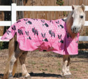 "Pony Poppins ""Preppy Bostons"" Expression Turnout Blanket"