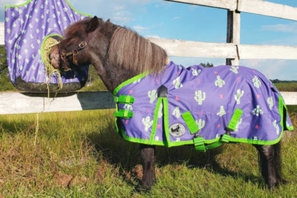 "Pony Poppins ""Prickly Cactus"" Expression Turnout Blanket"
