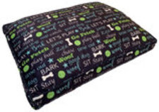 "Pooch Pen Printed Fleece Pet Bed Cover (36"" x 27"")"