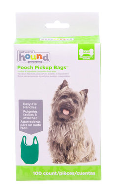Pooch Pick-Up Bags, 100 ct