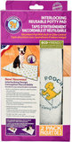 PoochPad Interlocking Reusable Potty Pads, 2 pack