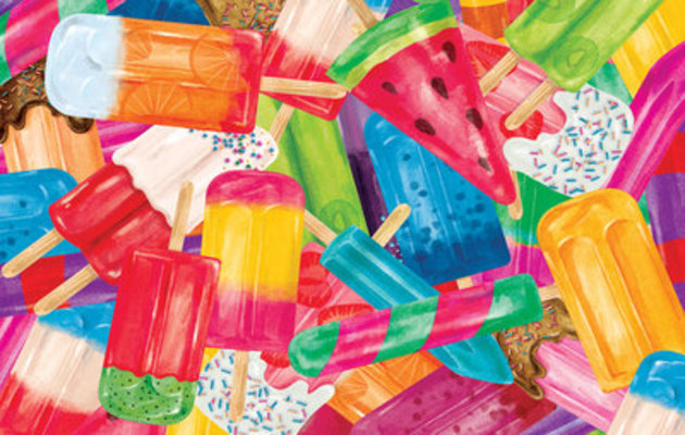 Popsicle, 100-piece Kid's Jigsaw Puzzle