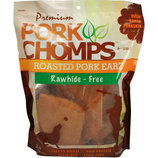 Premium Pork Chomps Roasted Pork Earz, 10 Ct