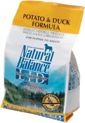 Potato and Duck Dry Dog Food