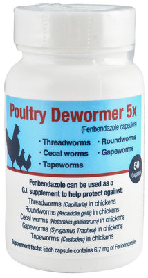 Poultry Dewormer 5x