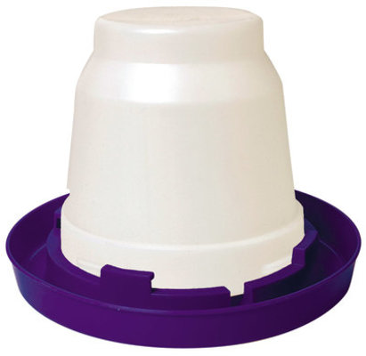Little Giant Poultry Waterer Set (Gallon Jar and Base)