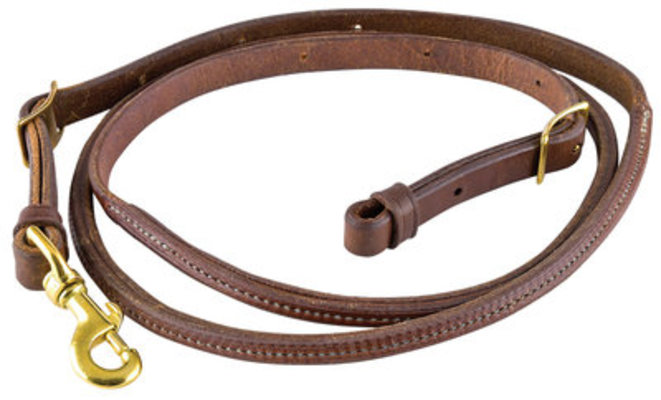Pre-Oiled Round Center Roper Rein