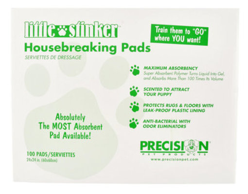 Little Stinker Housebreaking Pads, 100 ct