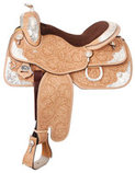 Light Oil Premium Imperial Silver Show Saddle