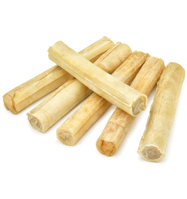 6-Pack Pressed Rawhide Sticks, 5""