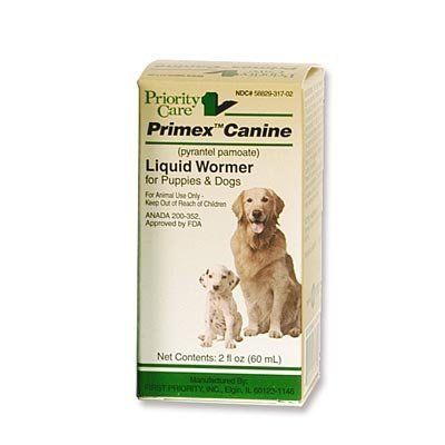 Primex™ Liquid Wormer, 2 oz - 60 ml (12 tsp)